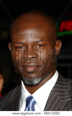 HOLLYWOOD - DECEMBER 06: Djimon Hounsou at the premiere of