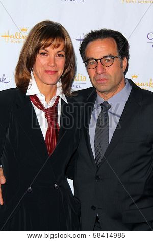Wendie Malick, Ray Abruzzo at the Hallmark Channel and Hallmark Movie Channel Winter 2013 TCA Gala, Huntington Library and Gardens, San Marino, CA 01-04-13