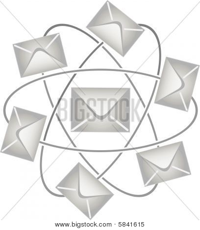 Post envelopes in a vector