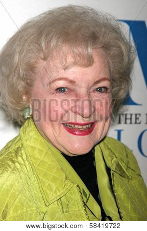 LOS ANGELES - DECEMBER 05: Betty White at the Presentation of