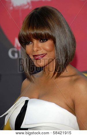 LAS VEGAS - DECEMBER 04: Janet Jackson arriving at the 2006 Billboard Music Awards, MGM Grand Hotel December 04, 2006 in Las Vegas, NV