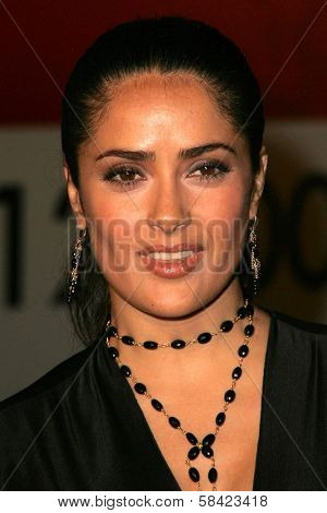 HOLLYWOOD - NOVEMBER 02: Salma Hayek at the AFI Fest 2006 screening of Pedro Almodovar's