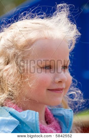 Girl Outdoor Portrait