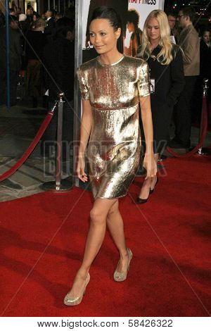 WESTWOOD, CA - DECEMBER 07: Thandie Newton at the premiere of