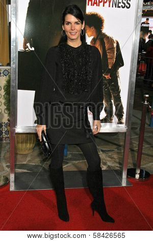 WESTWOOD, CA - DECEMBER 07: Angie Harmon at the premiere of