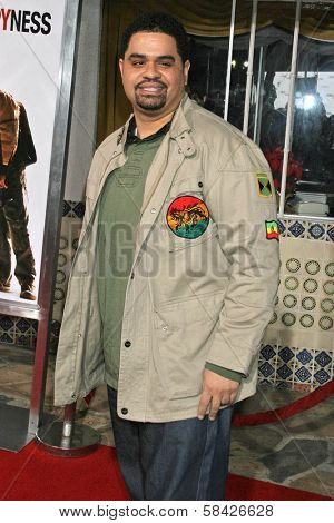 WESTWOOD, CA - DECEMBER 07: Heavy D at the premiere of