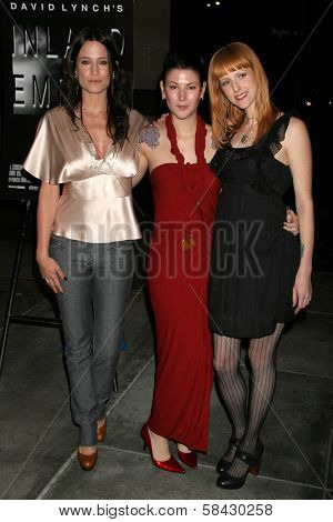 LOS ANGELES - DECEMBER 09: Kristen Kerr, Kat Turner and Terryn Westbrook at the Los Angeles Premiere of Inland Empire at LACMA December 09, 2006 in Los Angeles, CA.