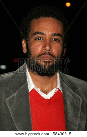 LOS ANGELES - DECEMBER 09: Ben Harper at the Los Angeles Premiere of Inland Empire at LACMA December 09, 2006 in Los Angeles, CA.