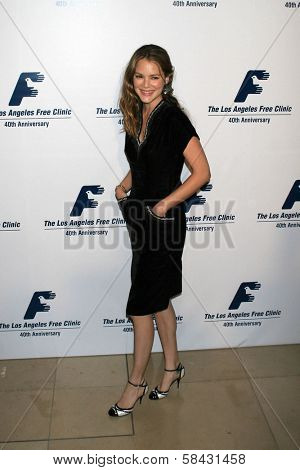 Jacinda Barrett at the Friends of the Los Angles Free Clinic Annual Dinner Gala. Beverly Hilton Hotel, Beverly Hills, California, November 20, 2006.