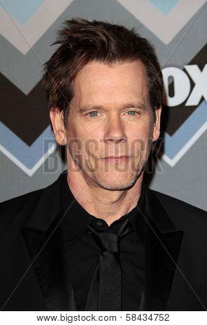 Kevin Bacon at the FOX Winter TCA All-Star Party 2013, Langham Huntington Hotel, Pasadena, CA 01-08-13