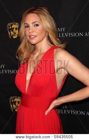 Olivia d'Abo at the BAFTA Los Angeles 2013 Awards Season Tea Party, Four Seasons Hotel, Los Angeles, CA 01-12-13