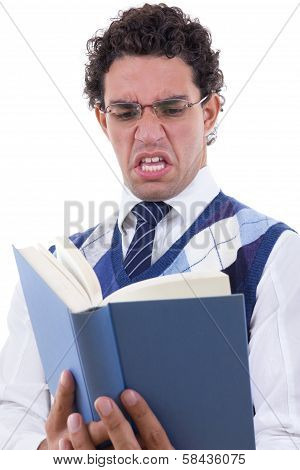 Man Disgusted By The Book