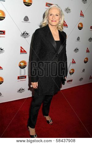 Glenn Close at the 2013 G'Day USA Los Angeles Black Tie Gala, JW Marriot, Los Angeles, CA  01-12-13