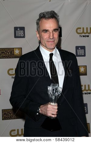 Daniel Day Lewis at the 18th Annual Critics' Choice Movie Awards Press Room, Barker Hangar, Santa Monica, CA 01-10-13