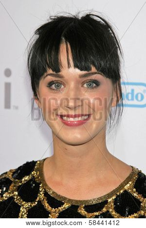 Katie Perry at the party celebrating the launch of Nintendo's Game Console Wii. Boulevard 3, Los Angeles, California. November 16, 2006.
