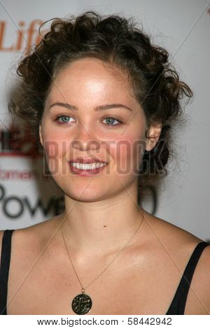 LOS ANGELES - DECEMBER 05: Erika Christensen at the 15th Annual The Hollywood Reporter's 2006 Women In Entertainment Power 100 at Beverly Hills Hotel December 05, 2006 in Beverly Hills, CA.