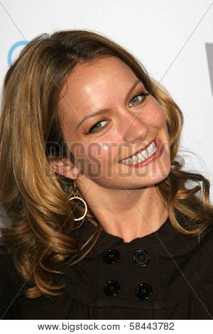 Becki Newton at the party celebrating the launch of Nintendo's Game Console Wii. Boulevard 3, Los Angeles, California. November 16, 2006.