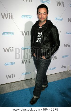 John Hensley at the party celebrating the launch of Nintendo's Game Console Wii. Boulevard 3, Los Angeles, California. November 16, 2006.