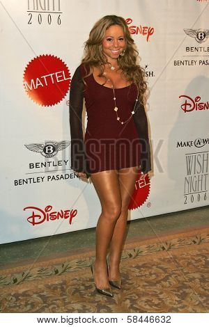 Mariah Carey Make-A-Wish Wish Night 2006 Awards Gala, Beverly Hills Hotel, Beverly Hills, California. November 17, 2006.