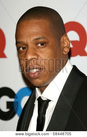 LOS ANGELES - NOVEMBER 29: Jay-Z at the GQ Man of the Year Awards at Sunset Tower Hotel November 29, 2006 in Los Angeles, CA.