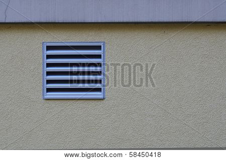 Vent On Background
