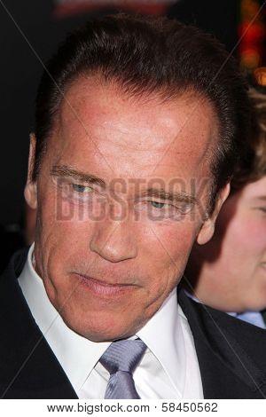 Arnold Schwarzenegger at