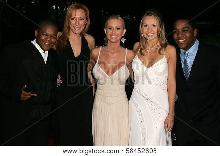 L-R Kyle Massey, Lesa Amoore, Katie Lohmann, Alana Curry and Christopher Massey at the 11th Annual Multicultural Prism Awards. Sheraton Universal Hotel, Universal City, California. December 10, 2006.