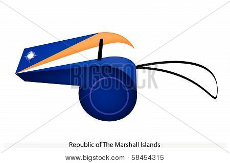 A Whistle Of The Republic Of The Marshall Islands