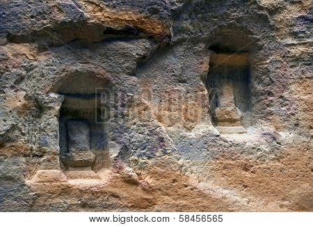 Nabatean City Of Petra In Jordan