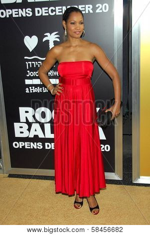 HOLLYWOOD - DECEMBER 13: Garcelle Beauvais at the world premiere of