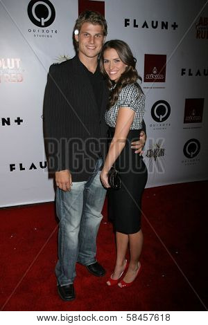 LOS ANGELES - DECEMBER 08: Travis Van Winkle and friend at Flaunt's 8th Annual Anniversary and Toy Drive benefitting on December 08, 2006 at The Edison in Los Angeles, CA.