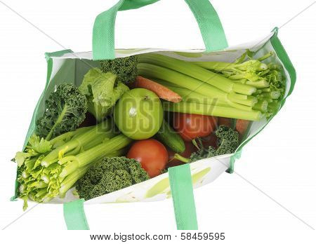 Shopping Bag With Vegetables
