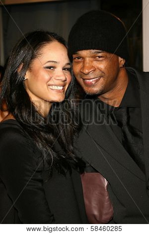 Damon Wayans and guest at the premiere of