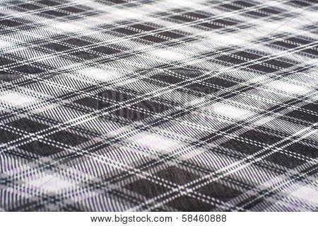 Checkered fabrick