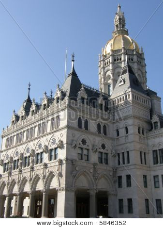Connecticut State Capitol in Hartford