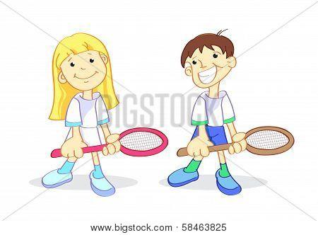 New tennis stars
