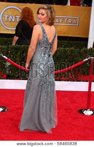 Julia Stiles at the 19th Annual Screen Actors Guild Awards Arrivals, Shrine Auditorium, Los Angeles, CA 01-27-13