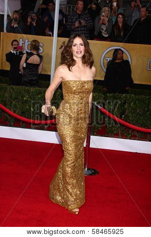 Jennifer Garner at the 19th Annual Screen Actors Guild Awards Arrivals, Shrine Auditorium, Los Angeles, CA 01-27-13