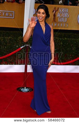 Jordin Sparks at the 19th Annual Screen Actors Guild Awards Arrivals, Shrine Auditorium, Los Angeles, CA 01-27-13