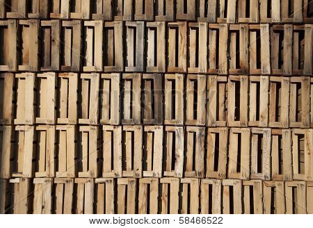Stack Of Wooden Box