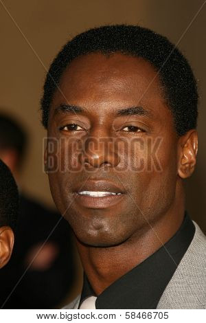 LOS ANGELES - NOVEMBER 21: Isaiah Washington at the 34th Annual American Music Awards at Shrine Auditorium November 21, 2006 in Los Angeles, CA