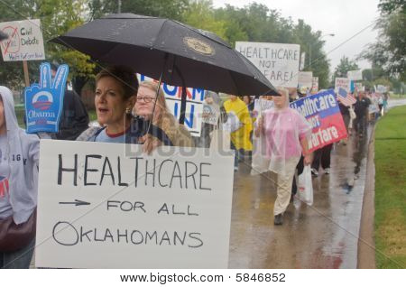 Health Care Protestors