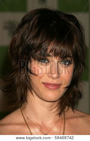 LOS ANGELES - NOVEMBER 08: Lizzy Caplan at the 16th Annual Environmental Media Association Awards at Wilshire Ebell Theatre November 08, 2006 in Los Angeles