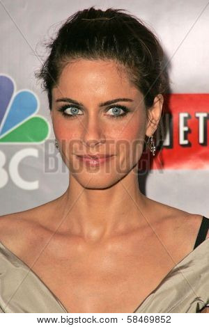 PASADENA - JULY 22: Amanda Peet at the NBC TCA Press Tour at Ritz Carlton Huntington Hotel on July 22, 2006 in Pasadena, CA.