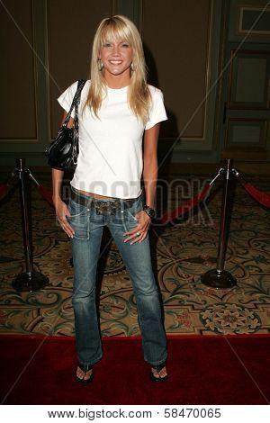 PASADENA - JULY 22: Emily Harper at the NBC TCA Press Tour at Ritz Carlton Huntington Hotel on July 22, 2006 in Pasadena, CA.
