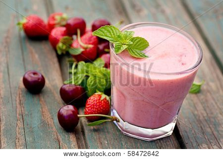 Strawberry Fruit Drink