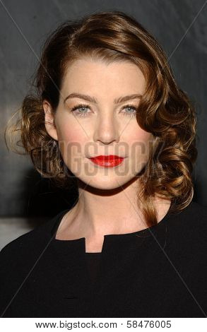 Ellen Pompeo at the Billy Wilder Theater Opening Tribute. Hammer Museum, Westwood, California. December 3, 2006.