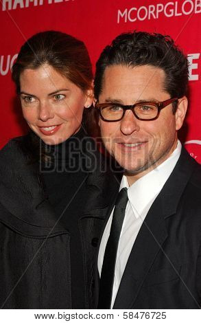 JJ Abrams and wife Katie at the Billy Wilder Theater Opening Tribute. Hammer Museum, Westwood, California. December 3, 2006.
