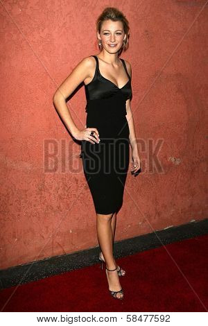 Blake Lively at the Hollywood Life Magazine's Breakthrough of the Year Awards. Music Box, Hollywood, California. December 10, 2006.