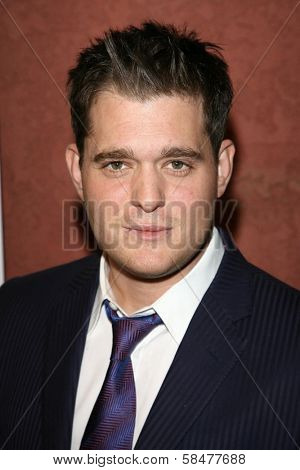 Michael Buble at the Hollywood Life Magazine's Breakthrough of the Year Awards. Music Box, Hollywood, California. December 10, 2006.